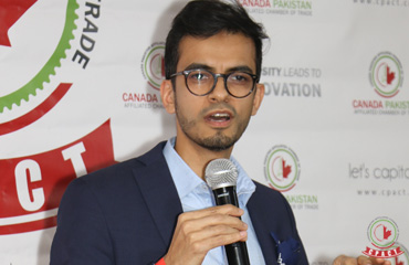 Sameer Zuberi, Diversity and Engagement Officer at McGill University's Faculty of Medicine,